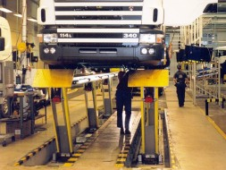VEGA 240 Scania factory Sweden