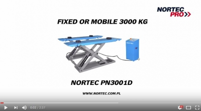 Nortec PN3001D fixed or mobile 3000 kg